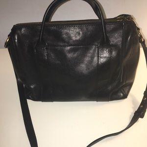 Madewell prairie satchel